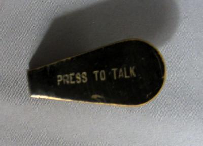 Candlestick Push to talk Button