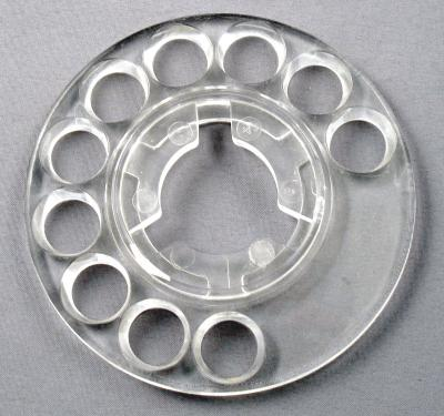 Fingerwheel,Clear,Stromberg Carlson