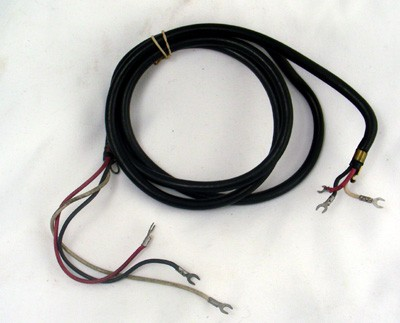 Black - Hardwired Straight - 3 Conductor (Original)