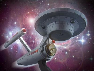 USS Enterprise NCC-1701 Novelty Phone