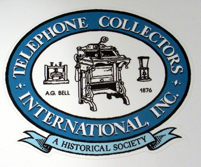 Telephone Collectors International Logo Decal