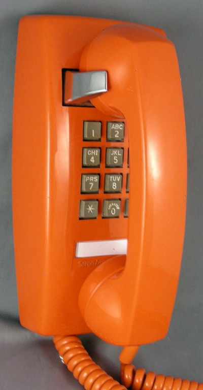 Oldphoneworks Antique Phones Colour Orange