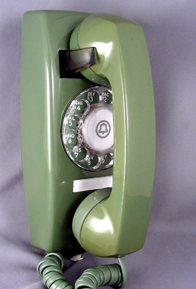 Oldphoneworks    Antique Phones    Colour    Green Collection    1654