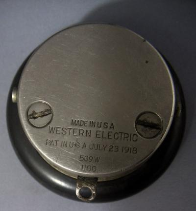 Western Electric - Watch Case Receiver - 509W