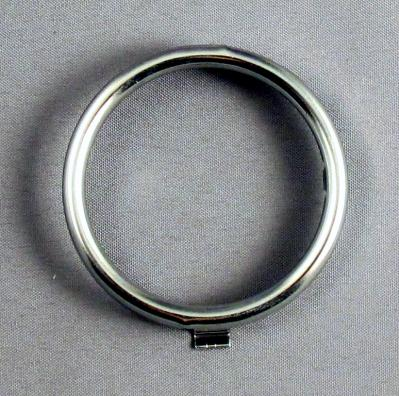 Western Electric Dial Card Ring - Chrome