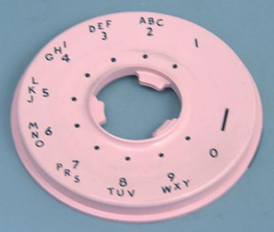 Western Electric 500 Series Dial Faceplate - Pink