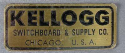 Kellogg Badge