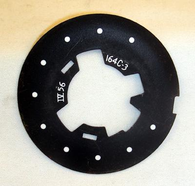Western Electric 164C-3 Dial Plate - Black