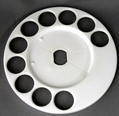 Automatic Electric Fingerwheel - White