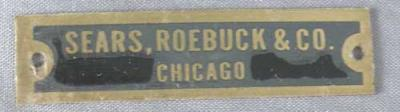 Sears, Roebuck & Co. Telephone Badge
