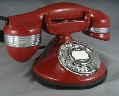 Type 1a  Deskphone - Red