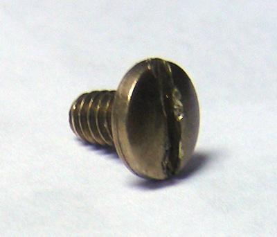 Automatic Electric Handset Screw