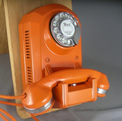 Automatic Electric Type 50 - Orange Finish with Chrome Trim