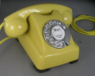 Kellogg masterphone 1000 ( aka redbar) - Yellow