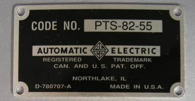 Automatic Electric - Top Badge - Black