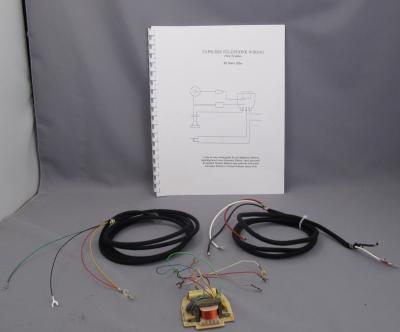 Network Upgrade Kit - Handset Style Phones - Black Cords - With Book