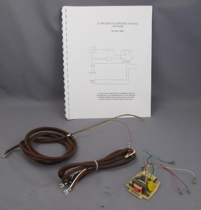 Network Upgrade Kit - Handset Style Phones - Brown Cords - With Book