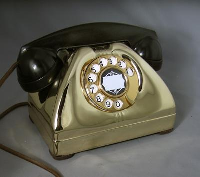 TP-6-A Vintage Telephone - Brass Edition