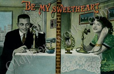 Be my Sweetheart Postcard