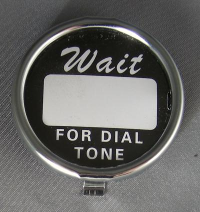 Western Electric Dial Card Kit - Chrome