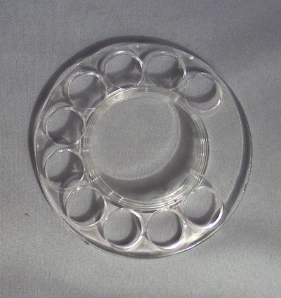 Western/Northern Electric Clear Fingerwheel (New!)