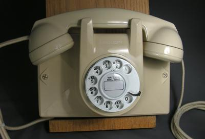 No. 2 Wall Phone - Ivory Finish S&D