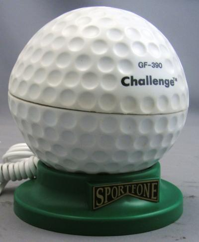 Golfball Novelty Telephone