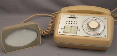 Automatic Electric Branded Beige Secretary's Telephone