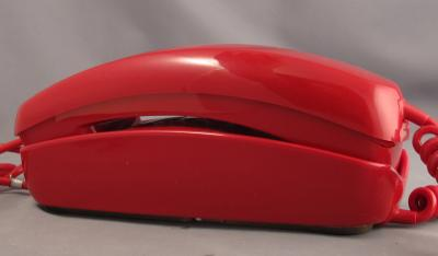 Trimline - Red - Desk Phone