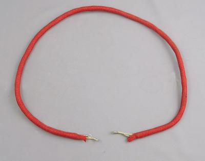 2 Conductor Thick Red Cord