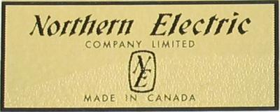 Water Decal - Northern Electric with Logo