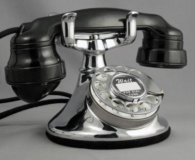 Western Electric 102 - Chrome