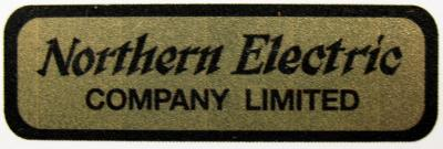 Water Decal - Northern Electric