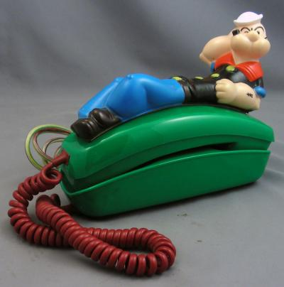 Popeye Novelty Phone