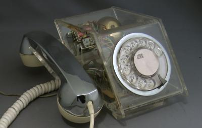Teleconcepts Clear Petite Telephone