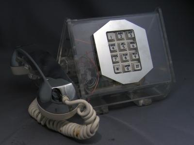 Teleconcepts Clear LaBelle Touch tone Telephone