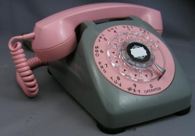 Automatic Electric Type 80 - Pink and Grey