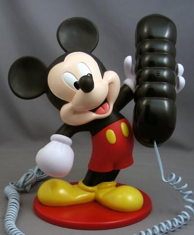 The Mickey Mouse Phone - 2000's