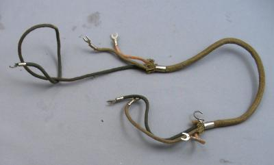 Western Electric Original Candlestick 3 Conductor Wiring Harness