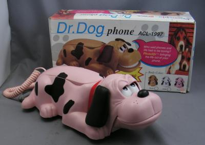 Dr Dog Telephone in Pink!