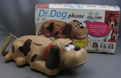 Dr Dog Telephone in Brown!