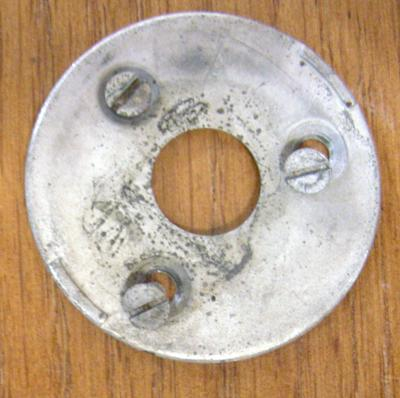North Electric Dial Retaining plate - with screws