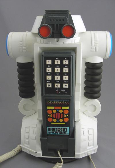 The Robo Force Telephone
