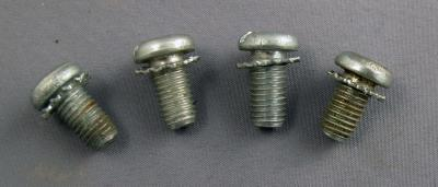Set of NE/WE payphone top lock screws (4)