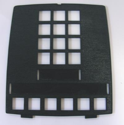 Northern Electric 2564 faceplate - Black
