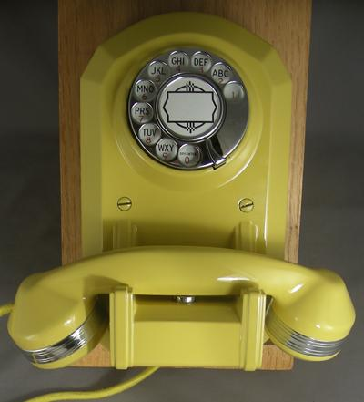 Automatic Electric Type 50 - Yellow Finish with Chrome Trim