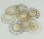 Western/Northern Electric Clear Fingerwheels - Used (Lot of 50)