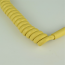 Pastel Yellow - Hardwired Curly - 4 Conductor