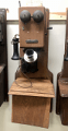 Montgomery Ward Wood Wall Phone