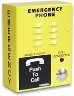 Handsfree Emergency Phone - Yellow